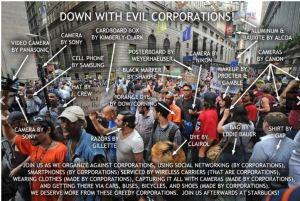 OWS hypocrisy