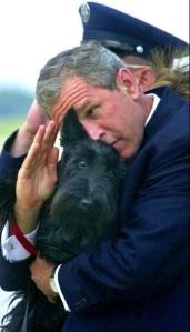 Bush dog salute