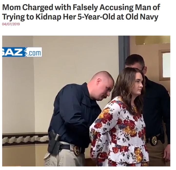 false charge